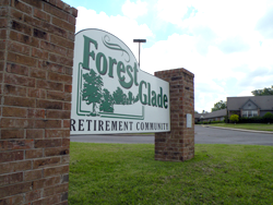 Forest Glade sign